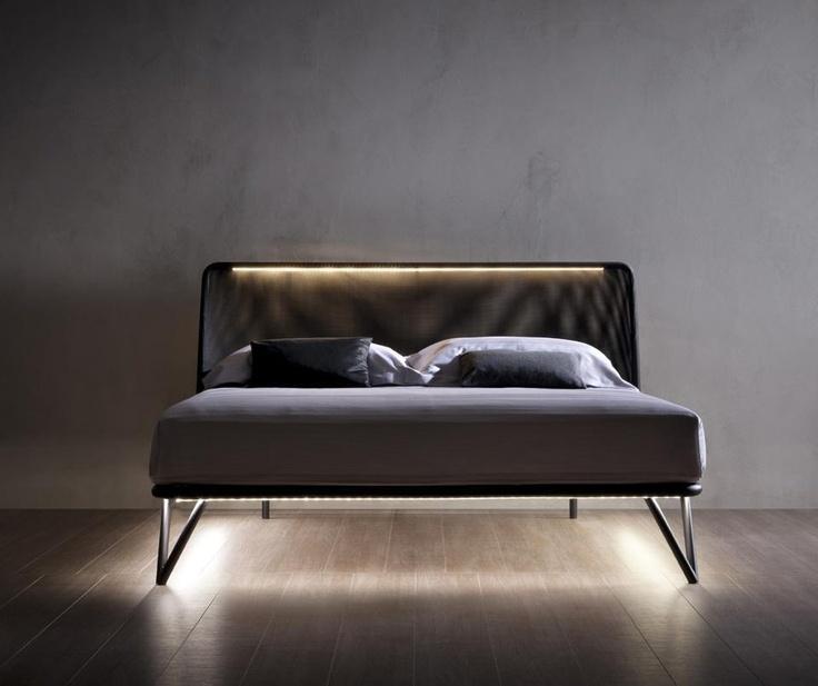flou furniture. illuminated furniture trend analysis essentia bed from flou a