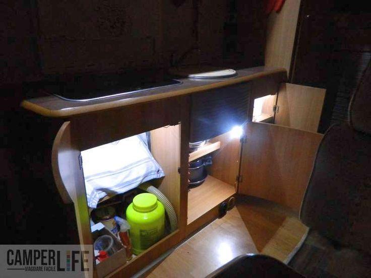 Illuminare gli interni dei mobili | CAMPER LIFE il portale del camper e viaggi in camper per camperisti italiani