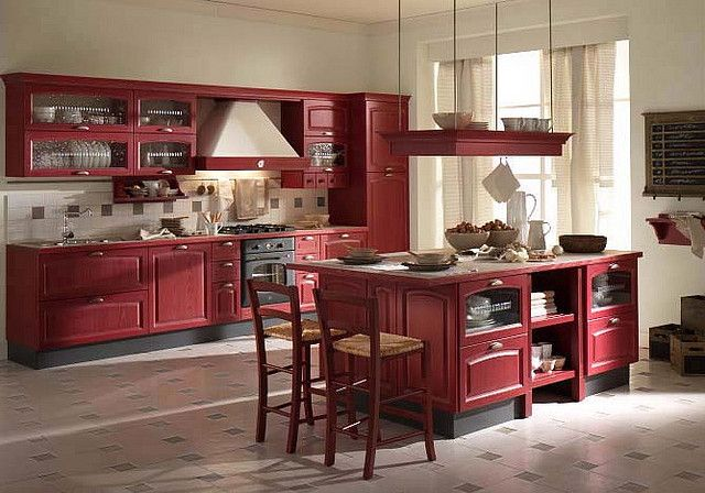 Red Country Kitchens Kitchen Dining Rooms