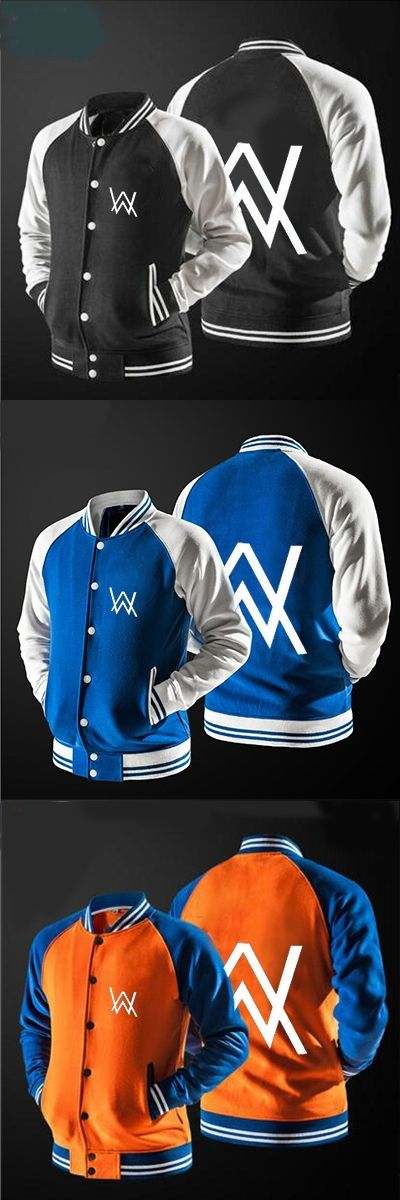 2017 the new fast ship New DJ Alan Walker Stars Loves jacket no hat,The highest quality USA size