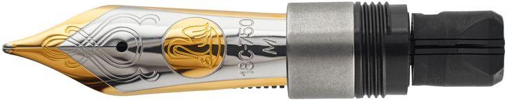 Pelikan M1000 Nib Unit 18K Two Tone   Classic Fountain Pens    #NIBS #PENS #TROBEEPENS