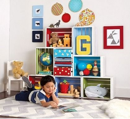 Here are the craft store coupons for the week. I spotted this fun project using wood crates for storage. You can get more details here. MICHAEL'S: Michael's allows one coupon per transaction at mos...