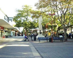 Broadwalk in Harlow town centre