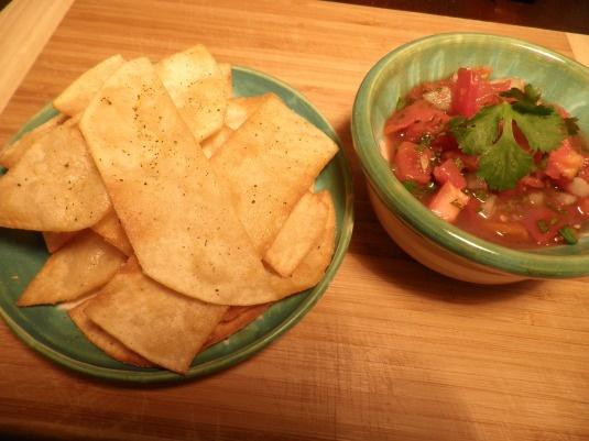 Fresh homemade Chips and Salsa