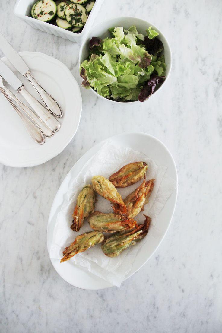 Zucchiniblüten mit Ricotta | si-style-rezepte