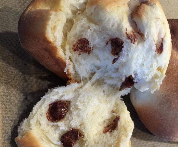 Rezept Schoko-Milchbrötchen/Weckchen von Dancingangel - Rezept der Kategorie Backen süß (Baking Eggs Brunch)