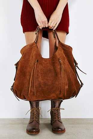 BDG Suede Belted Bag - Urban Outfitters