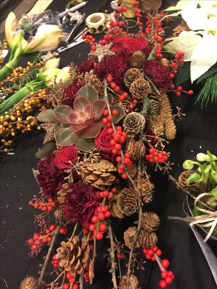 Lekker juledekorasjon fra Interflora demo