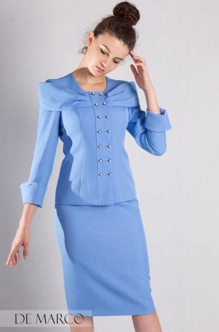 562c9295a5 Biznesowa garsonka z pomysłem. Oryginalne kostiumy damskie dedykowane  kobietą na wysokich stanowiskach …
