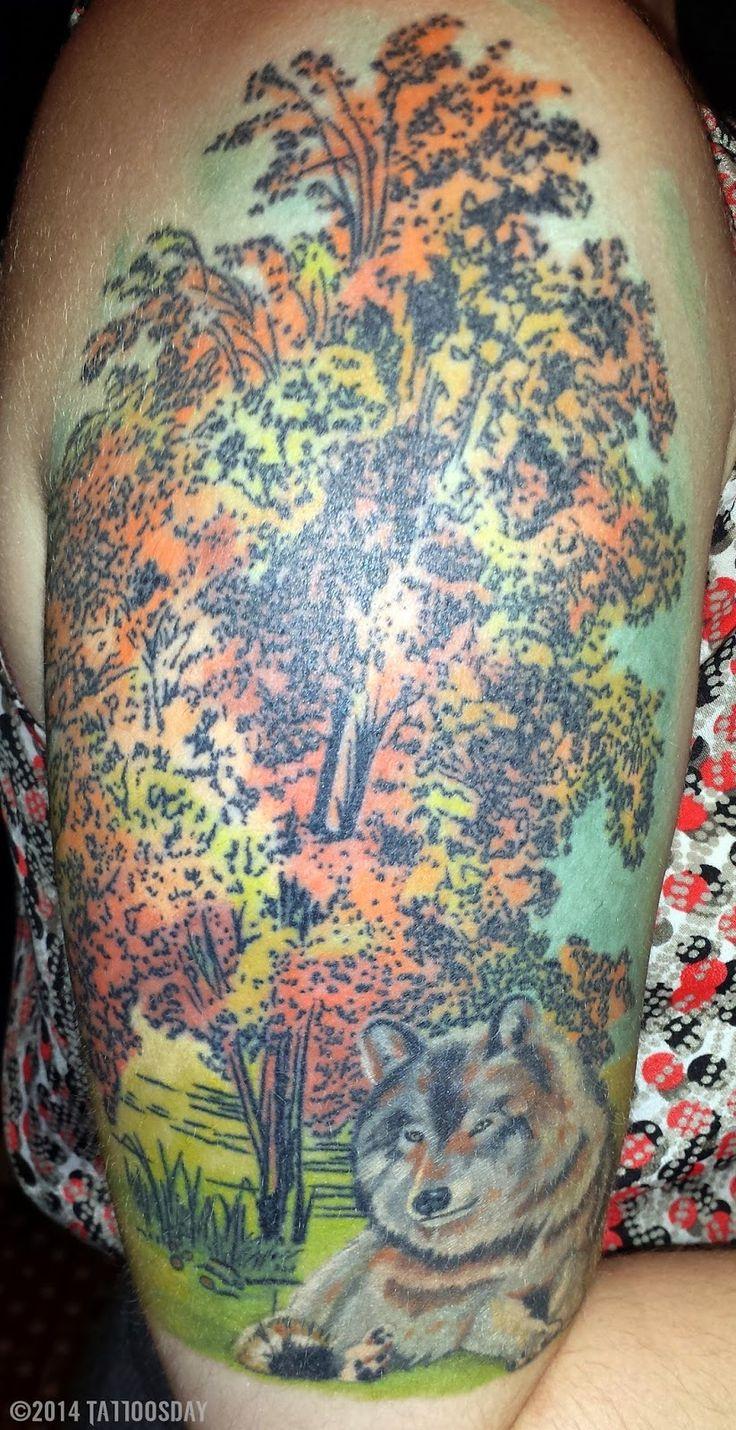 Tattoosday (A Tattoo Blog): Olga Shares Two Incredible Tattoos  http://tattoosday.blogspot.com/2014/07/olga-shares-two-incredible-tattoos.html