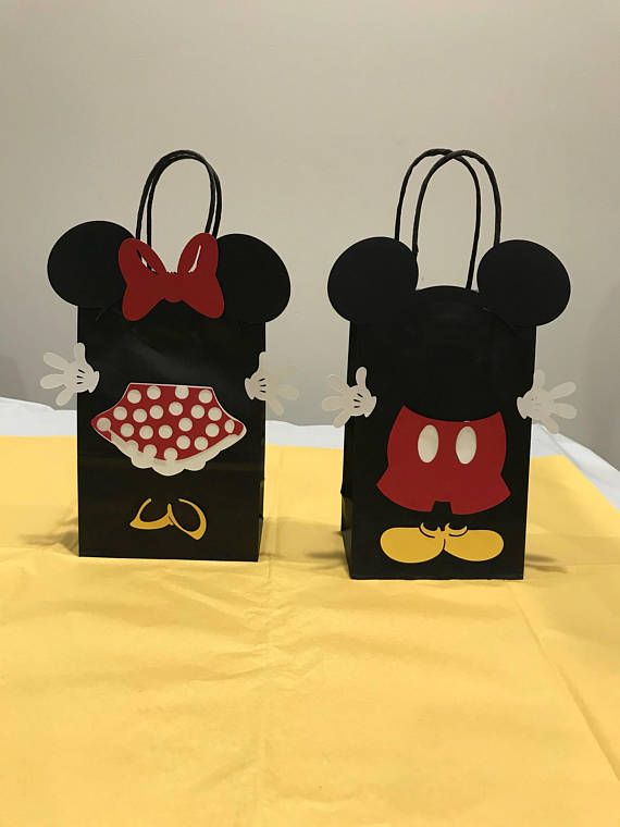 Mickey Mouse Favor Bags Birthday Party
