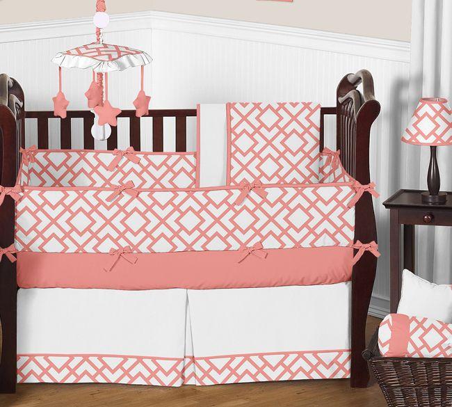 Mejores 85 imágenes de Girls Crib Bedding en Pinterest | Juegos de ...
