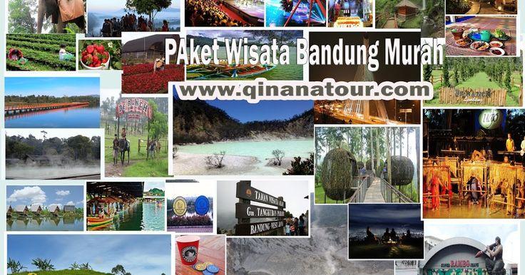 ini daftar tempat wisata favorit di Bandung. yuk segera rencanakan liburan murah kamu di Bandung bersama Qinanatour