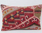 16x24 best kilim pillow lumbar throw pillow lumbar decorative pillow country pillow cover extra large throw pillow kilim pillow case  24263