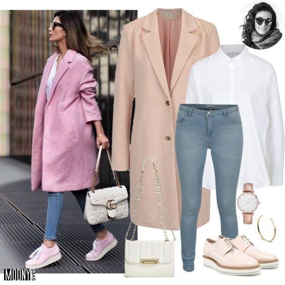 c0cabf14d Prvý jarný kúsok v šatníku! Stále pokračujeme vo farebných kúskoch. Dnes je  to dievčenský outfit s krásnym jarným pastelovo ružovým kabátom.