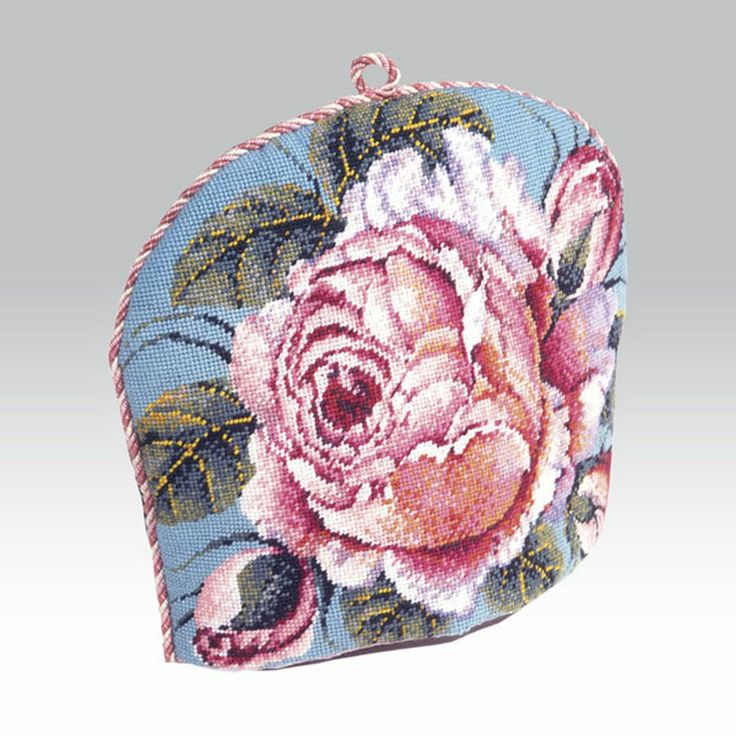 Very intricate Rose Teacosy - Ehrman Tapestry
