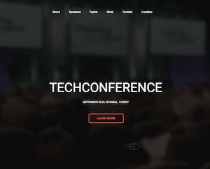 Techevent - Pagewiz Landing Page Template   http://www.templatesparkle.com/landing-pages  templatesparkle.com/livedemo/techevent