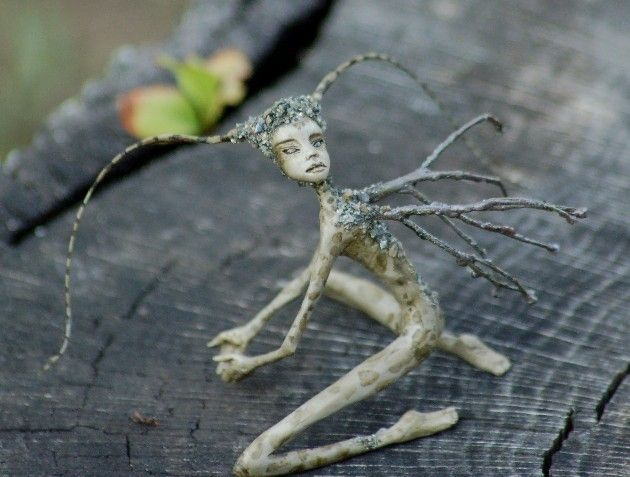 OOAKGuild.com ~ The OG ~ One of A Kind Art Dolls & Sculptures › Gallery › Member Galleries › Tenuviel › Last additions › Last additions › stone fairy1