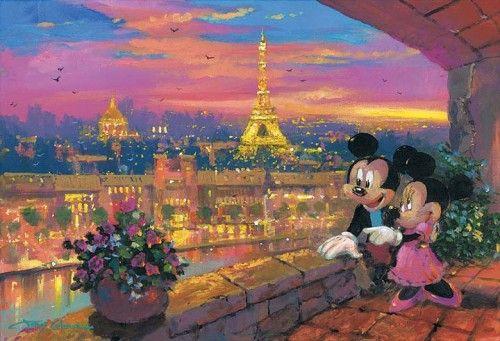 A Paris Sunset by James Coleman
