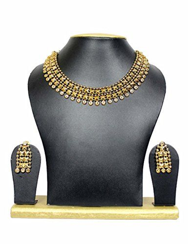 Indian Bollywood Traditianal Ethic Designer Gold Plated N…
