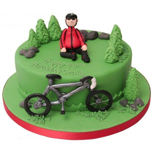Bicyclist Cake