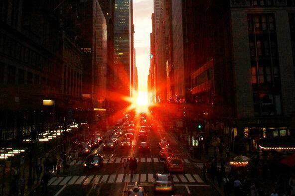The Manhattan Henge | FreshNYC