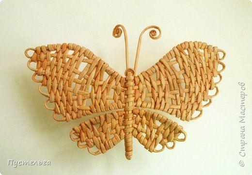 Скоро лето! Сплетём бабочку! фото 1