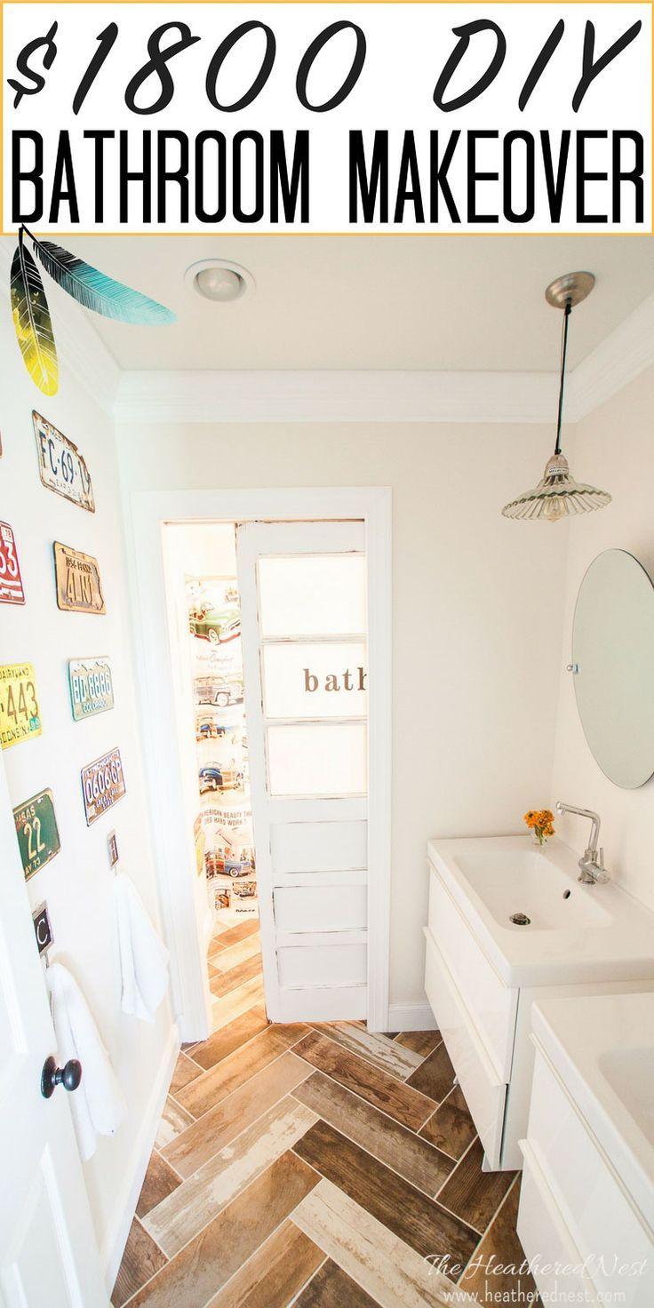 Bathroom Makeovers For Less 1063 best bathroom makeover ideas images on pinterest | bathroom