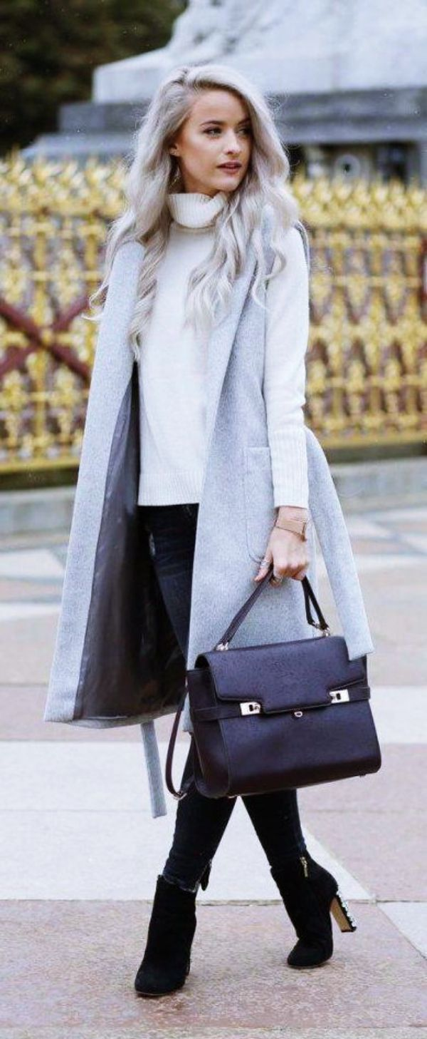 40 Perfect Winter Office Attires For Women Chic Winter
