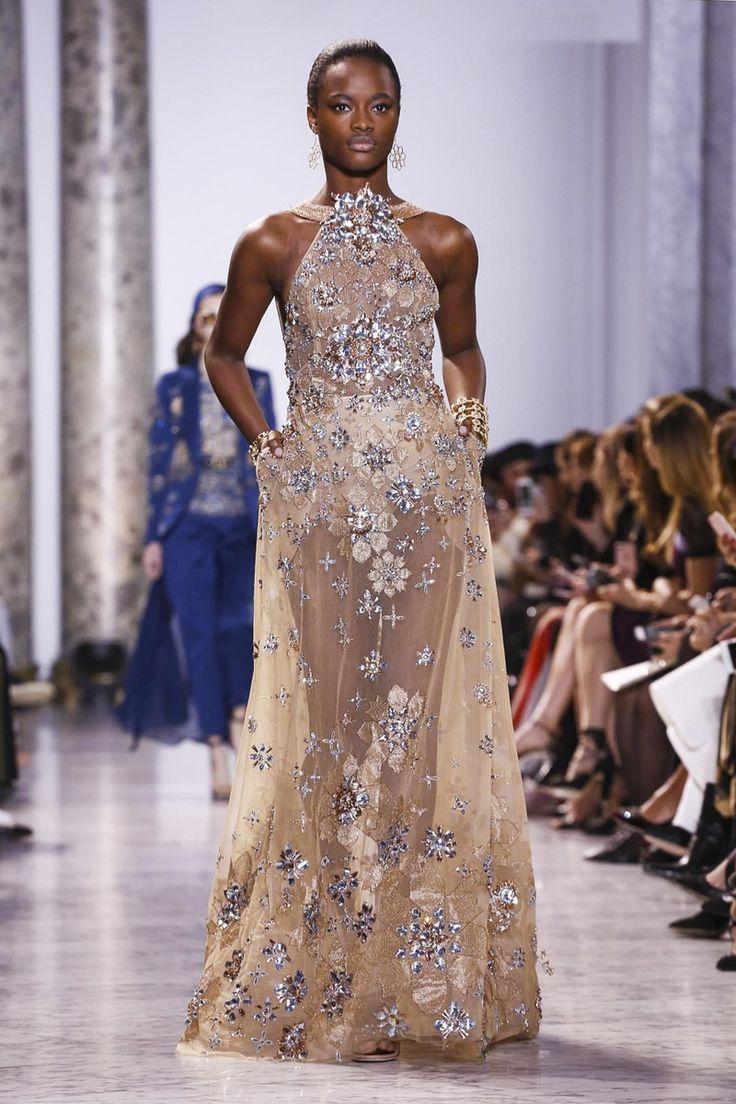 """Mayowa Nicholas @ Elie Saab Couture Spring 2017 """