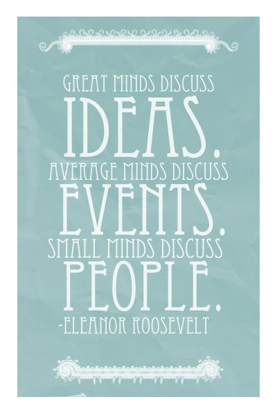 I made this, because I love this quote #quotes #eleanor #roosevelt