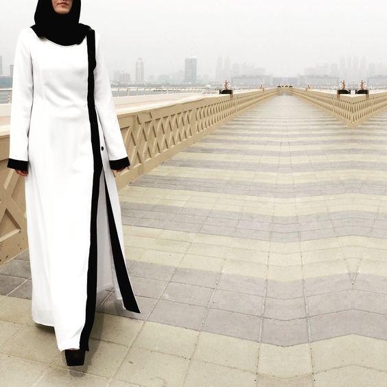 hijab elegante | Hijab Fashion - Collection Magnifique d'Abaya fashion et élégante ...