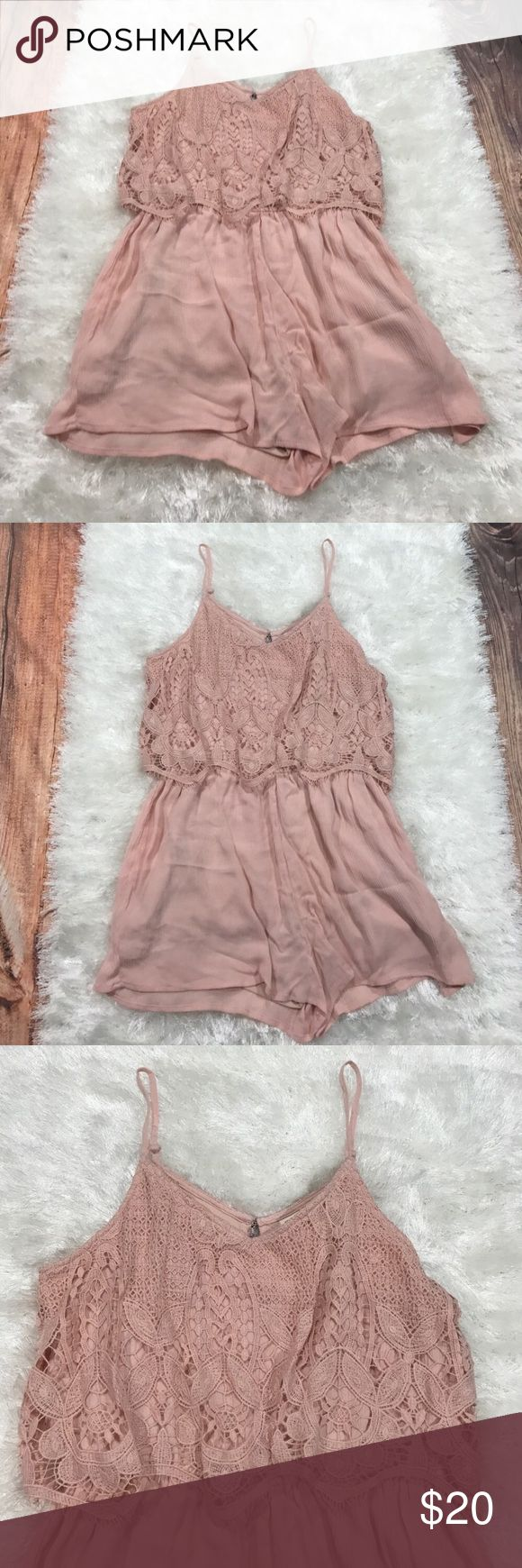 Ladies Mossimo Supply Co Light Pink Lace Romper Mossimo Supply Co Light Pink Lace Romper. Size Large. New without tags. Mossimo Supply Co Dresses