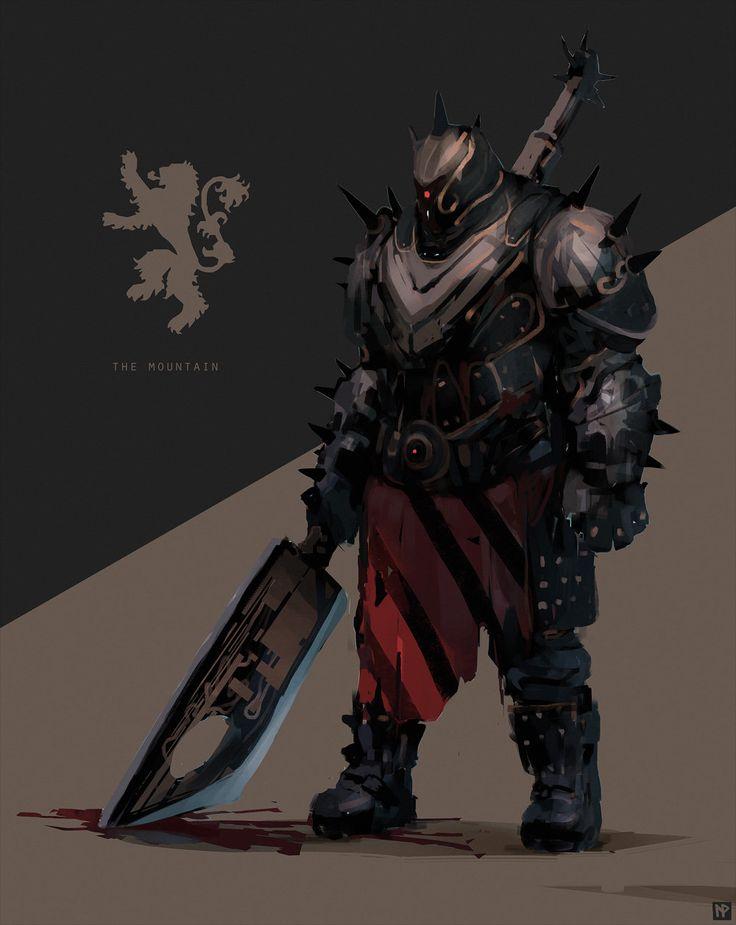 warlock, hunter, titan, MOUNTAIN, Lennart Verhoeff on ArtStation at https://www.artstation.com/artwork/warlock-hunter-titan-mountain