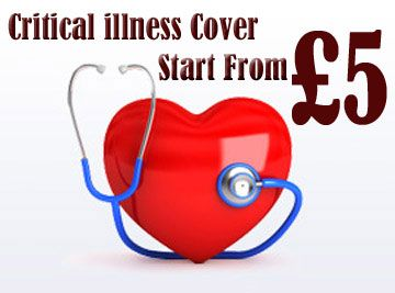 Buy life and critical illness insurance: instantly in few minutes!  Guaranteed Life insurance with critical illness: Get online cover without any health questions or medical checkup!