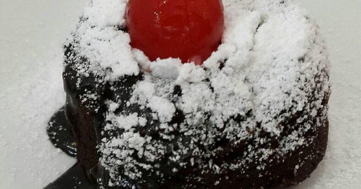 Resep Choco lava cake (no mixer, no oven) #dapureci favorit. source : Pratiwi S