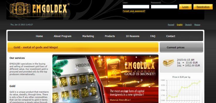 EMGOLDEX scam