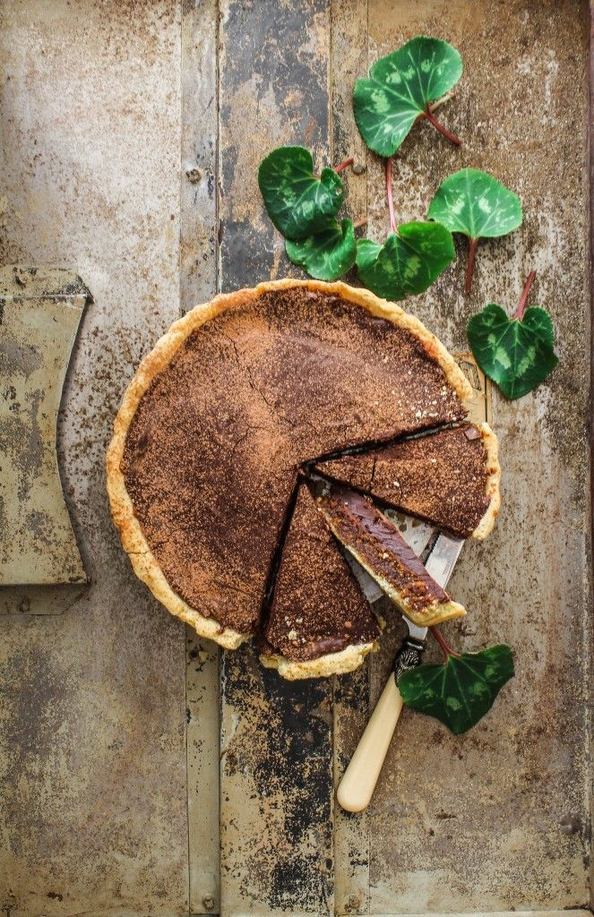 Chocolate Treacle Tart Recipe