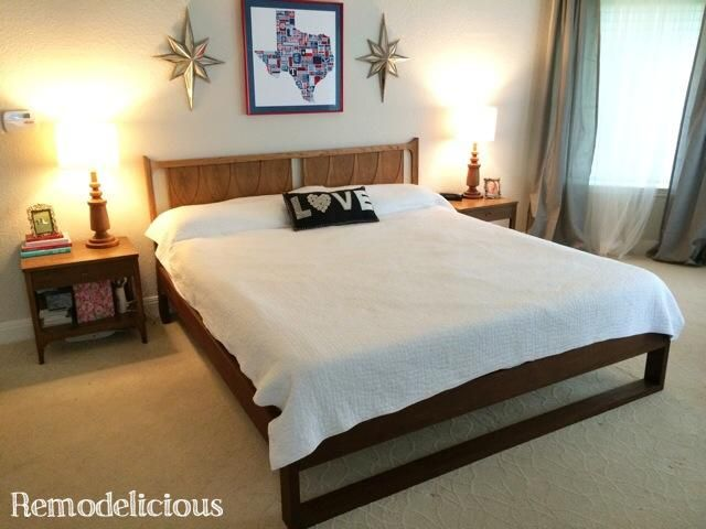 Build Your Own King Size Platform Bed - WoodWorking Projects & Plans