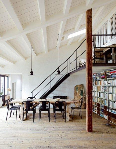 435 besten loft style bilder auf pinterest badezimmer freigelegtes mauerwerk und architektur. Black Bedroom Furniture Sets. Home Design Ideas