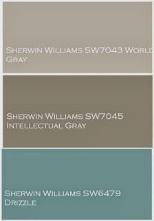Whole House Design Project~Linen, Gray and Turquoise love the paint colors