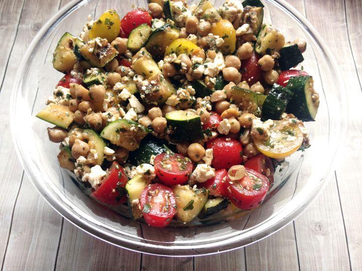Zucchini-Kichererbsen-Salat-3