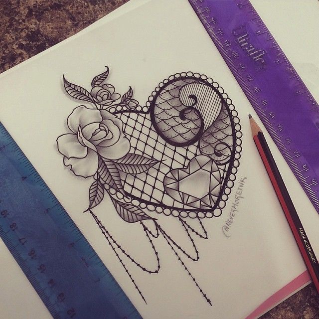 45 fabulous lace tattoo designs taken from gold silk cotton