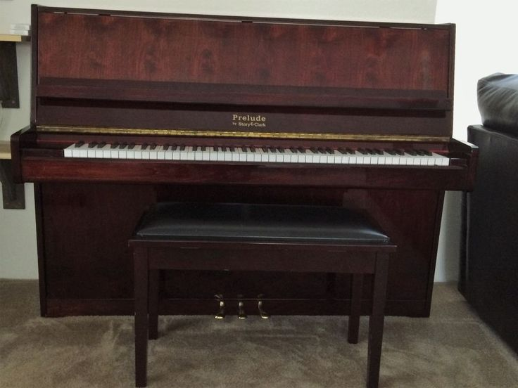 #Piano #Upright Story&Clark Cherry wood #Musical #Instruments - #Payson, AZ at #Geebo