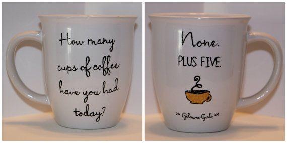Gilmore Girls Quote Mug by PolkaDotKeeney on Etsy