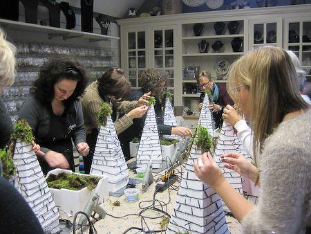 Fotolog van workshop Kerstworkshop