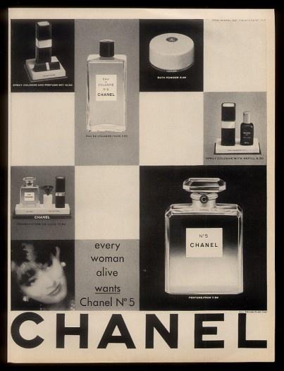 Chanel No. 5 Perfume, 1961