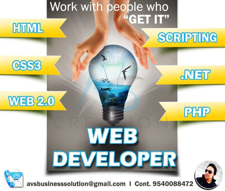 our services - web development and designing