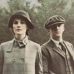 Downton Abbey. Hunting outfits
