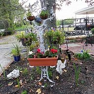 At a flea market I found an old Victorian hall tree. It was missing s… :: Hometalk